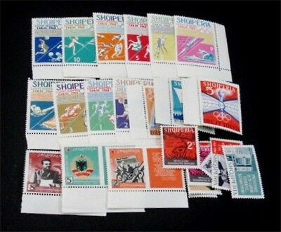 nystamps Albania Stamp # 730 // 771 Mint OG NH $37