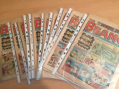 BEANO COMIC 1984 Various Dates - Very Good Condition in Plastic Sleeve