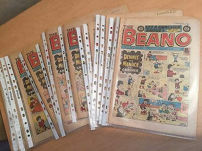 BEANO COMIC 1983 Various Dates - Very Good Condition in Plastic Sleeve