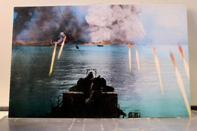 Military World War II Rockets Red Glare Japan Postcard Old Vintage Card View PC