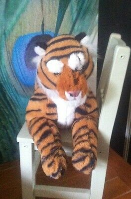 Disney Store Jungle Book Shere Khan Plush Soft Toy Live Action Very Rare Tiger