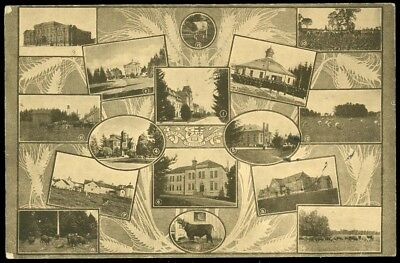 Multi View Ad Card - Ontario Agricultural College, Guelph, Ont