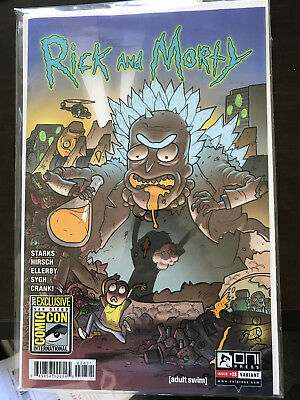 Rick and Morty #28 Oni Press SDCC 2017 Variant Cover! Exculsive! Pickle Rick!