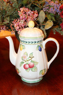 Villeroy & Boch French Garden Coffee or Tea Pot Teapot