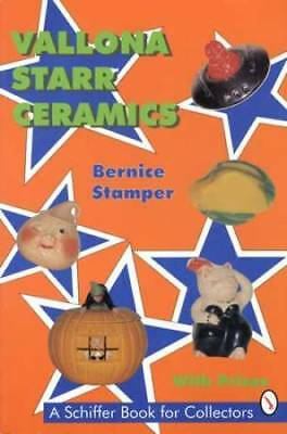 Vallona Starr Ceramics Collector ID Reference incl Winkies Face Pottery & More