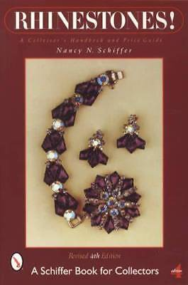 Vintage Rhinestone Jewelry Collectors Guide: incl Necklaces Pendants Brooch More