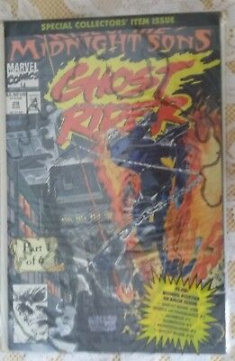 Comic Ghost Rider 28 August 1992 Special Collectors Item Issue Part 1 Of 6