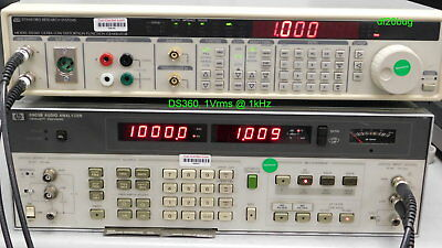 Stanford Research Systems (SRS) DS360 Ultra Low Distortion Function Generator