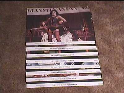ROCKY HORROR PICTURE SHOW 1975 11x14 LOBBY CARD SET CULT FAVE