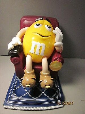 M&Ms Plastic Candy Dispenser