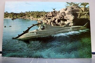 Walt Disney World Leagues Under the Sea Postcard Old Vintage Card View Standard