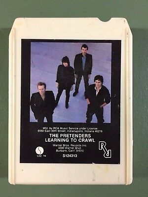 Pretenders - Learning To Crawl 8 track very rare
