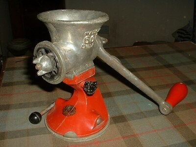 "Interesting Vintage ""spong Table Top Mincer"" Model Number 601"