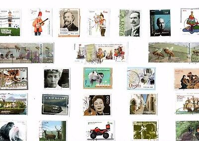 A Lovely Selection Of Euro Commemorative Kiloware Stamps From Portugal