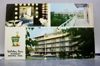 Tennessee TN Holiday inn Memphis Postcard Old Vintage Card View Standard Post PC