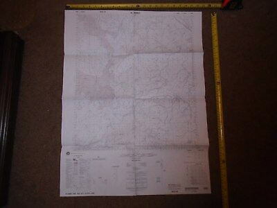 US MILITARY MAP OF IRAQ AL HAMAT 1st EDITION 1996 SERIES K643 SHEET 4852 0-29