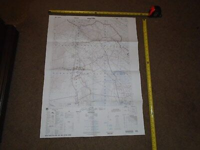 US MILITARY MAP OF IRAQ AL QURNAH 2nd EDITION 2002 K643 SHEET 5452 0-31