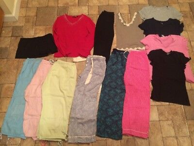 Assorted Womens Clothes Size M L XL Gap Old Navy + Tees Lounge Pants Tops Swim