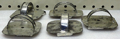 Vintage Antique Steel Cookie Cutters Lot Of 5, Birds