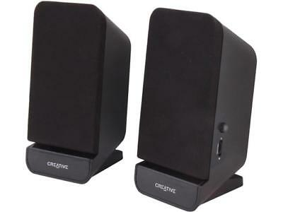 CREATIVE Speaker Set 2.0 SBS A60 Powered Quality Sound PC MAC 3.5mm MF1635