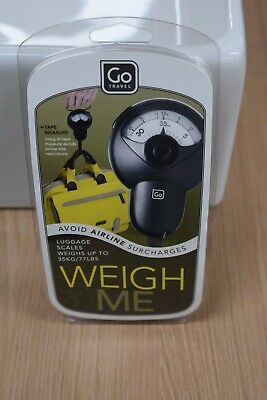"""Go Travel - """"Weigh Me"""" Luggage Travel Scales - Metric/Imperial"""