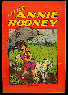 Little Annie Rooney #3 Scarce Last Issue King Features St. John Comic 1948 VG