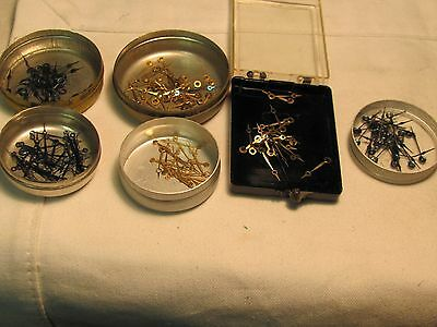Pocket watch new old stock hands.6 containers/all for 16-18 size pocket watches