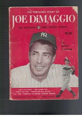1950 The Thrilling Story Of Joe Dimaggio Publication..loaded With Joe D Pics