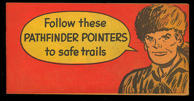 "Davy Crockett ""Pathfinder Pointers"" Rare Giveaway Comic Not in Guide 1953 VG+"