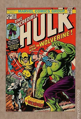 Incredible Hulk (1962-1999 1st Series) #181 FN/VF 7.0