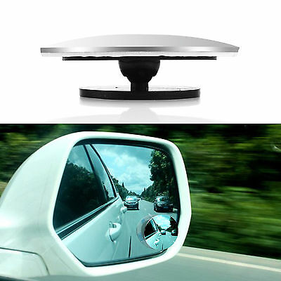 Useful Car Blind Spot Rear View Mirrors Rearview Wide Angle Round Convex Mirror