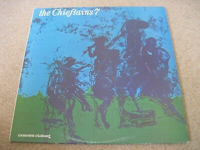 THE CHIEFTAINS The Chieftains 7  1977  CLADDAGH RECORDS  superb EX