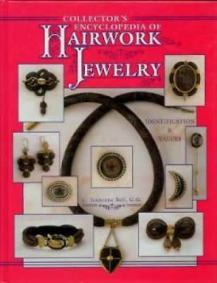 OOP BOOK!! Victorian Mourning Hairwork Jewelry REF ID$$