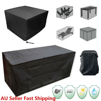 8Size Waterproof Outdoor Patio Garden Furniture Rain Snow Cover for Table Chairs