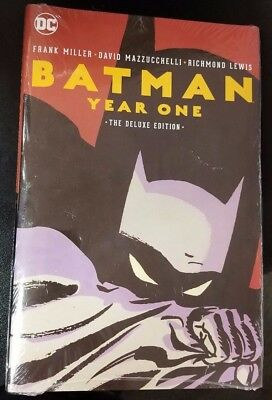 Batman Year One Deluxe Edition Hardcover Sealed Dc Comics Miller