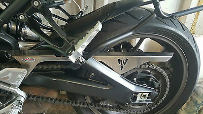 Yamaha MT-09 Street Tracker (15-)  Beowulf Stainless Steel Chain Guard CGYA006