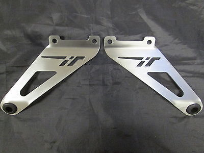Aprilia Tuono (06-10) Stainless Steel Exhaust Hanging Brackets (Pair) EXHBAP001