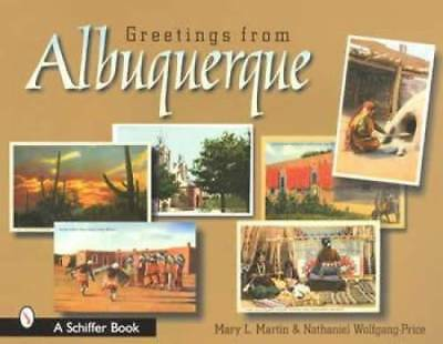 Greetings from Albuquerque Postcards Book New Mexico NM