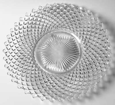 Westmoreland ENGLISH HOBNAIL CLEAR (ROUND BASE) Dinner Plate 769299