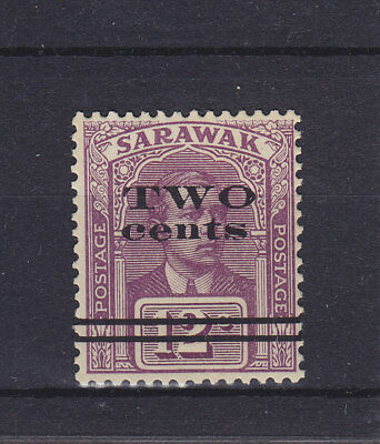 Sarawak KGV 1923 SG 73 Lightly Mounted Mint