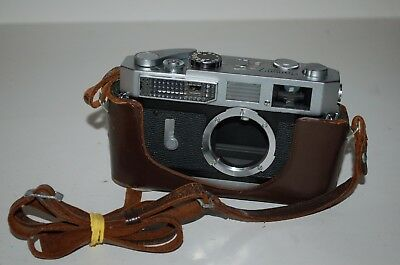 Canon-7 Vintage Japanese Rangefinder Camera. Serviced. 980526. UK Sale