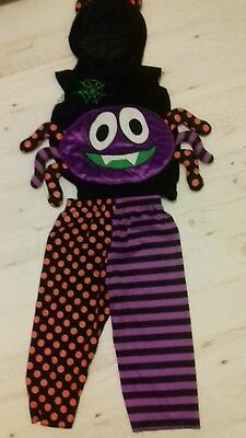 Age 2-3 Years Boys Halloween Spider Dress Up Costume