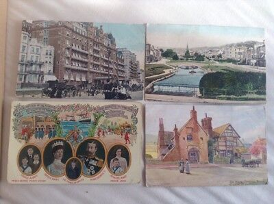 32 Postcards Smaller With Stamps Over 100 Yrs Old