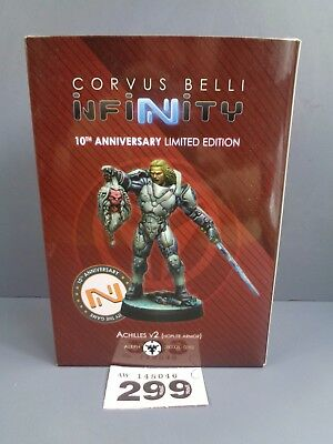 Wargames Infinity 10th Anniversary Limited Edition Achilles v2 Clearance Lot 299
