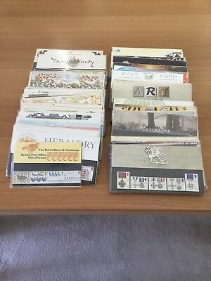 Collection of 111 Royal Mail Presentation Packs