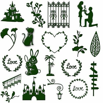 Christmas Metal Cutting Dies Stencils Scrapbooking DIY Crafts Cards Making Decor