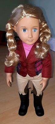 "Our Generation Horse Riding 18 ""doll"