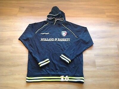 """Leicester Tigers, Matchday, Overhead Long Sleeve Hoody. XL. P To P 27"""""""