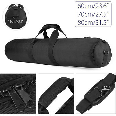 60/70/80cm Padded Strap Camera Tripod Carry Bag Case For Manfrotto Gitzo Velbon
