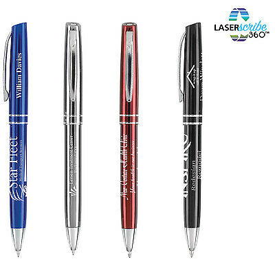 100 METAL PENS PERSONALIZED PROMOTIONAL MARKETING HANDOUTS GIVEAWAY  drumwork